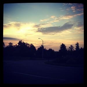 sunrise jog