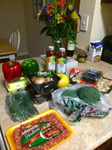 Paleo grocery shopping